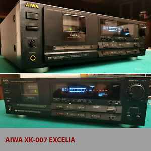 Piastra registratore cassette AIWA XK-007 EXCELIA 3testine com.Servoas (difetto)