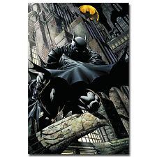 TWO FACE Batman DC Superheroes Comic Art Silk Canvas Poster 12x18 24x36 inch 012