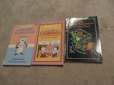 Lot of 3 Softcover I Can Read Books, Arthur, Francis, Mystery