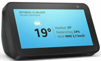 Amazon Echo Show 5 kompaktes Smart Display mit Alexa Schwarz 5,5 Zoll Bildschirm