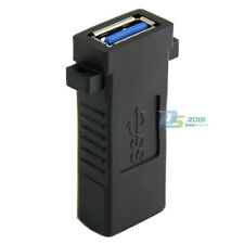 USB 3.0 Super Speed Type A-Female to A-Female Adapter Converter Socket Plug