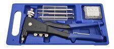 Astro Pneumatic 1443A Hand Rivet Nut Kit SAE, Metric w/ Rivet Nut Assortment