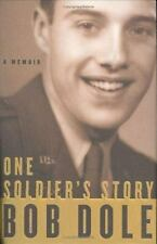 ONE SOLDIER'S STORY- 10th Mountain Division ( Sen. Bob Dole) 1st ed,HB/dj VG