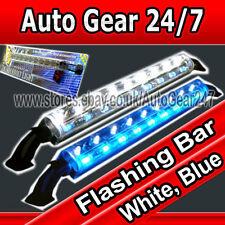 12v Car Van Boat Limousine Home Case Display Flashing White Blue Led Light Tube