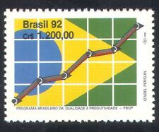 Brazil 1992 Commerce/Industry/Graph/Flag/Animation/Design 1v (n38928)