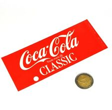 Vintage Coca-Cola Cavalier Automaten Label Beschriftung Schild Machine Tag SA11