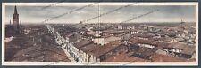 PIACENZA CASTEL SAN GIOVANNI 14 Cartolina DOPPIA viaggiata 1932