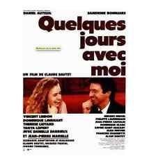Bande annonce cinéma 35mm 1988 Quelques jours avec moi Sautet Auteuil Bonnaire