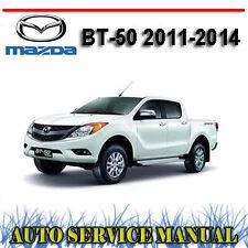 MAZDA BT-50 2011-2014 WORKSHOP REPAIR SERVICE + OWNERS MANUAL ~ DVD