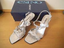 Gorgeous Leather Italian Designer Sandals  Size 4 By Esino (New  £89) - Bargain