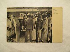 1910 Gun Drill Rapid Fire Lower Deck Navy Postcard