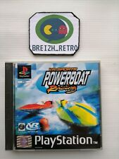😍Jeu Sony Playstation 1 PS1 VR Sport Powerboat Racing Complet CD Neuf PAL😍