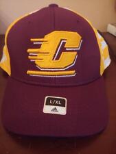 Central Michigan Chippewas NCAA FLex Fit adidas brand new