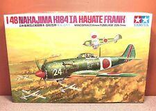 1/48 TAMIYA NAKAJIMA Ki-84-1A HAYATE FRANK MODEL KIT # MA113-350