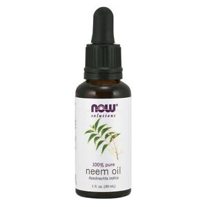 NOW Foods Neem Oil 1 fl oz Made in USA FREE SHIPPING