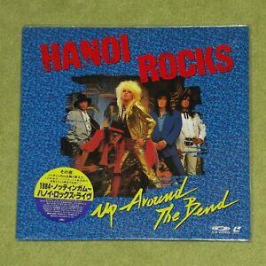 HANOI ROCKS Up Around The Bend [Michael Monroe] - RARE 1990 JAPAN LASERDISC