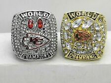 2 Pcs 2020 Kansas City Chiefs Championship Ring Fan Gift !!