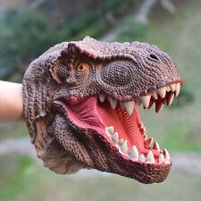 Dinosaurs Tyrannosaurus Head Glove T-Rex Hand Puppet Toys Kids Role Play Gift