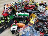 LEGO - 1KG VEHICLE THEMED CREATIVITY PACK(S) - CAR TRUCK BUS TRAILER ETC: