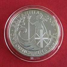 2008 £2 SILVER BRITANNIA