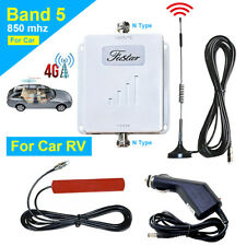 Car RV 850MHz Increase 4G LTE Verizon AT&T Voice Data Cell Phone Signal Booster