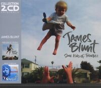 """JAMES BLUNT """"SOME KIND OF TROUBLE/BACK TO BEDLAM"""" 2 CD NEU"""