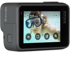 Brand New US GoPro HERO7 4K Waterproof Action Camera  Silver 7 Cam