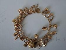 9Carat Yellow Gold Fine Charms & Charm Bracelets