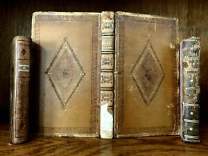 LOT OF ANTIQUE BOOKS from 1700-1800s Feminism, Morals, Religion