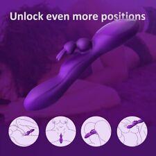 Soft G-spot Dildo Anal Clitoral Vibrators Masturbators Adult Sex Toys UK
