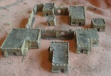 New! 10mm scale 7 x North African Town Buildings colonial desert North Africa