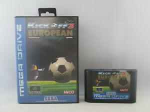 Sega Mega Drive / Genesis - Kick Off 3 European Challenge