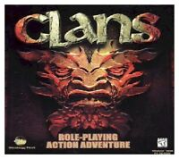 Clans Pc New Cd Rom In Paper Sleeve Classic Gaming