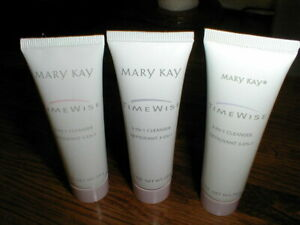 3 Mary Kay Timewise 3 In 1 Cleanser 1 Oz New 3 different skin types