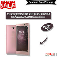 "New Sony Xperia L2 Pink 32GB 4G LTE 5.5"" LCD GPS WIFI 13MP Unlocked Smartphone"