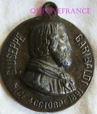 MED6199 - MEDAILLE INAUGURATION MONUMENT GARIBALDI NICE 1891