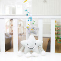Music Education Rattles Crib Stroller Star Plush Toys Cute Baby Bed Hanging Doll