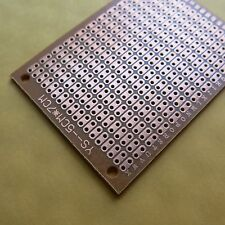 10x 5x7cm 2er hole Stripboard Prototyping platine Single Side circuit board pcb
