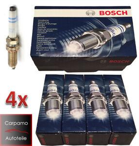 4x BOSCH 0241140522 Zündkerzen für Mercedes A B C T CLA CLS E GL GLA GLK M S SL