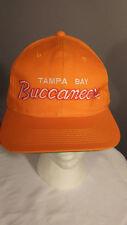 Vintage Tampa Bay Buccaneers NFL Script hat Snapback cap Sports Specialties NWOT