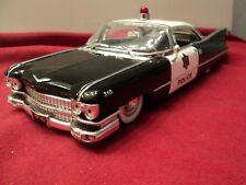 "Jada 1959 Cadillac Coupe deville 'police"" 1/24 scale New no box 2009 release"