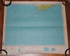 Authentic Soviet Army Military Topographic Map APALACHICOLA, Florida, USA