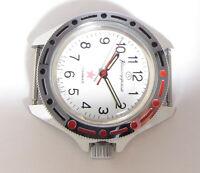 VOSTOK KOMANDIRSKIE MILITARY Soviet Wristwatch ZAKAZ MO USSR Ministry of Defence