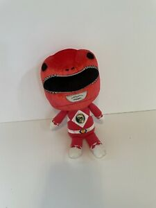 Funko Mighty Morphin Power Rangers Red Ranger Plush Stuffed Toy 2017 Dinosaur