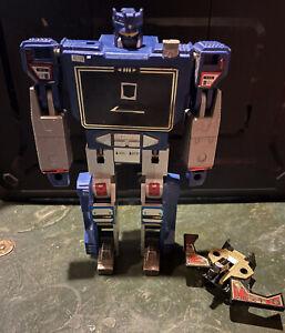 G1 Soundwave Transformers Original 1984