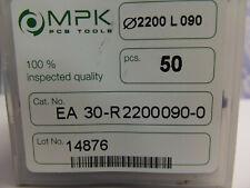 50 Stück VHM  Zweischneiden + Fräser + 2,2 mm + + Dremel + Proxxon + CNC