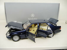 1:18 Norev Mercedes S500 W140 blue Dealer EDITION NEW FREE SHIPPING