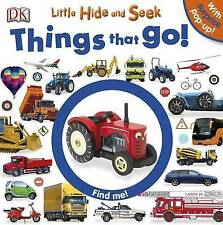 Little escondite y buscar cosas que van por DK (libro de placa y Pop Up) NUEVO