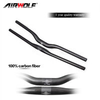 Carbon Fiber 31.8mm MTB Bike Handlebar Mountain Road Cycling Bicycle Handlebars