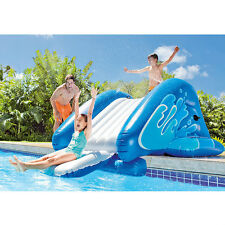 Water Slide for Pool Inflatable Activity Center Swimming Accessory Fun Exercise